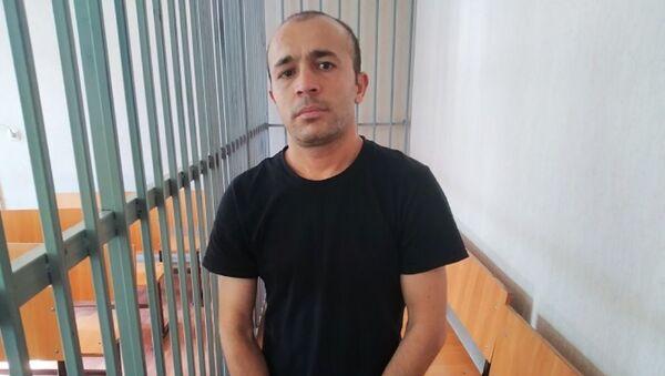 Юсуф Зиёев, маҳкумшуда барои таҷовуз ба номуси духтарчаи сесола - Sputnik Таджикистан