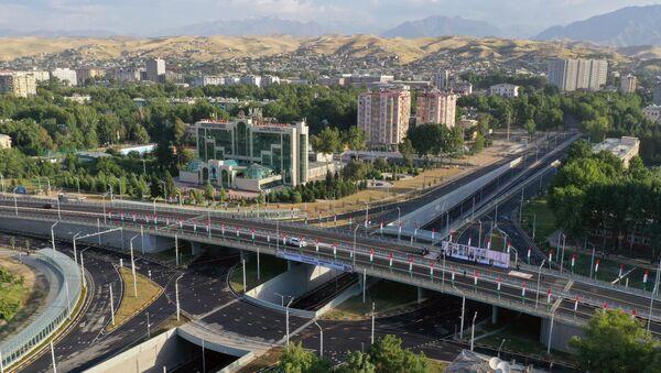 Новая эстакада в Душанбе - Sputnik Тоҷикистон