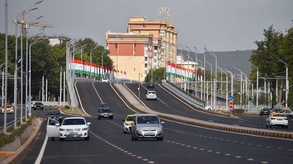 Новая эстакада в Душанбе - Sputnik Таджикистан