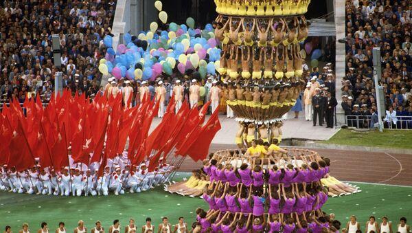 Торжественное открытие Олимпиады-80 в Москве  - Sputnik Таджикистан