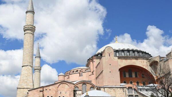 Собор Святой Софии в Стамбуле - Sputnik Таджикистан