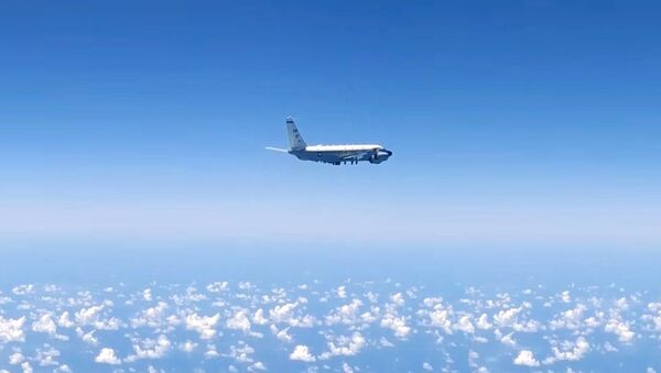 Российские истребители перехватили самолёты-разведчики НАТО - YouTube - Sputnik Таджикистан