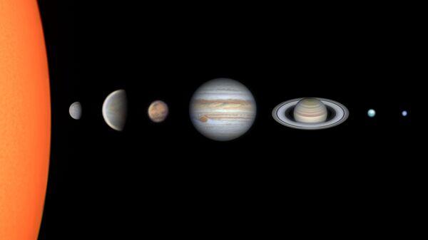 Снимок Solar System Through my Telescope бразильского фотографа Vinicius Martins из категории The Sir Patrick Moore Prize for Best Newcomer, попавший в шортлист конкурса Insight Investment Astronomy Photographer of the Year 2020  - Sputnik Тоҷикистон