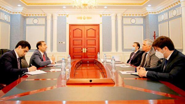 Встреча первого заместителя министра иностранных дел Таджикистана с послом Азербайджана - Sputnik Таджикистан