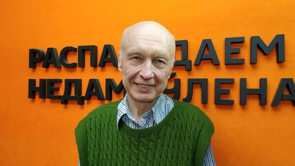 Специалист по иммунологии Олег Дарашкевич - Sputnik Таджикистан