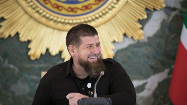 Глава Чечни Рамзан Кадыров - Sputnik Тоҷикистон