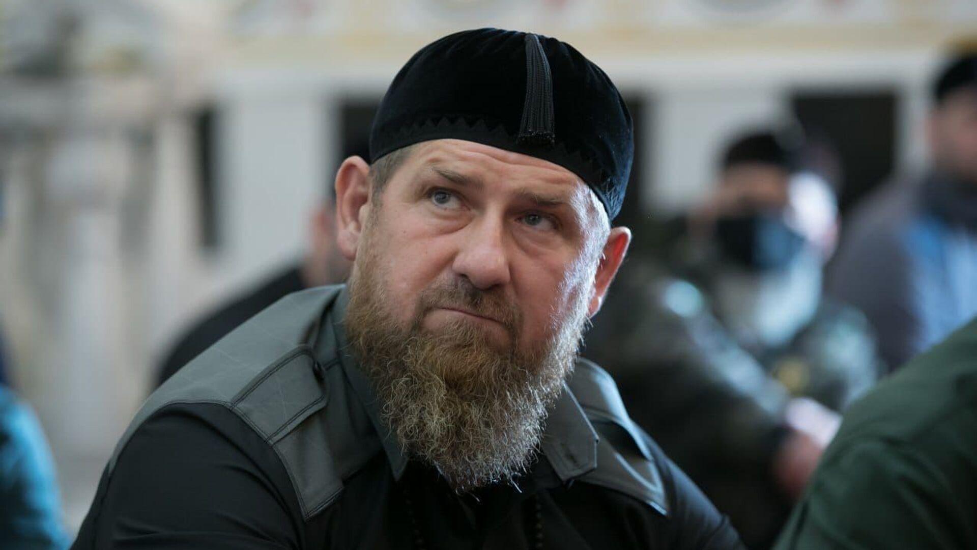 Глава Чечни Рамзан Кадыров - Sputnik Таджикистан, 1920, 03.09.2021