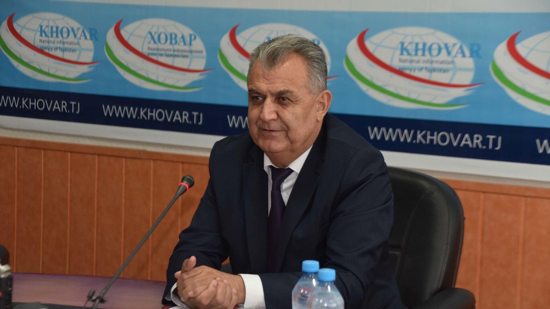 Нуриддин Саид, глава Комитета по телевидению и радиовещанию - Sputnik Таджикистан, 1920, 10.02.2021