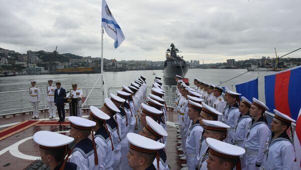 День ВМФ в городах России - Sputnik Тоҷикистон