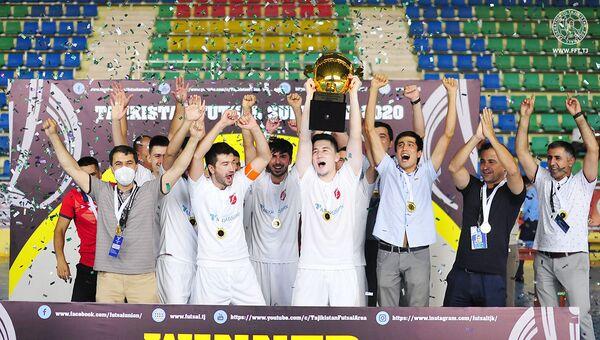 Худжандский Сипар стал обладателем Суперкубка Таджикистана-2020 по футзалу  - Sputnik Таджикистан