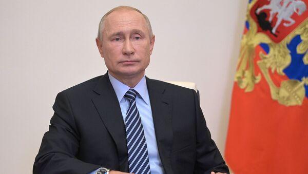 Совещание Владимира Путина по санитарно-эпидемиологической обстановке - Sputnik Тоҷикистон