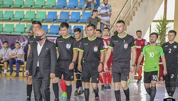 Игры профессиональной футзальной лиги Таджикистана-2020 - Sputnik Таджикистан