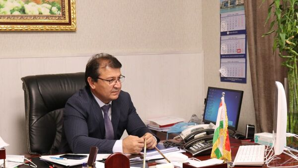 Министр здравоохранения и социальной защиты Республики Таджикистан Джамолиддин Абдуллозода - Sputnik Тоҷикистон