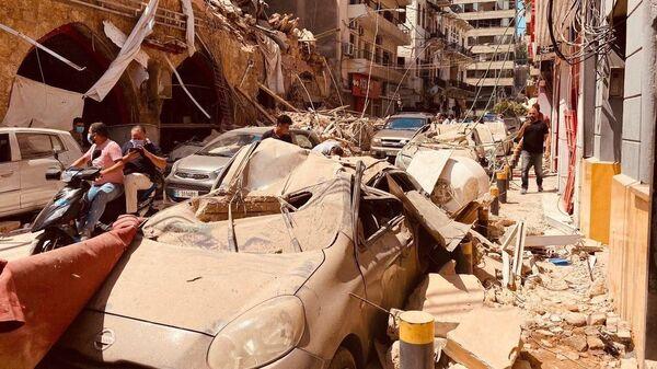 Последствия взрыва в Ливане - Sputnik Тоҷикистон