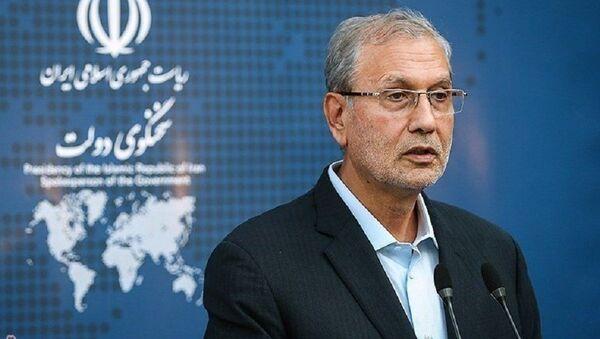Али Рабей, официальный представитель иранского правительства - Sputnik Тоҷикистон
