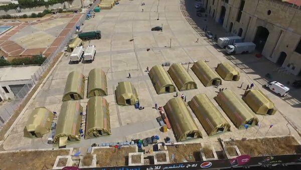 Помощь спасателей МЧС России получили почти 200 человек в Бейруте - YouTube - Sputnik Таджикистан