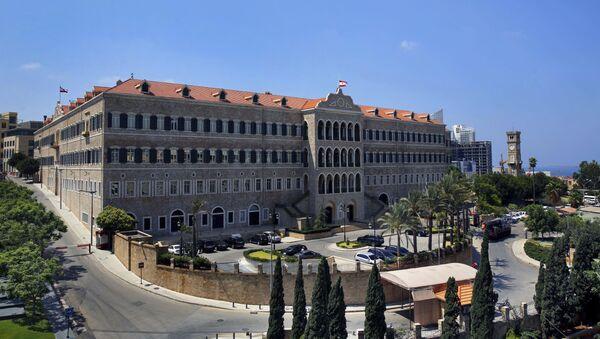 Здание ливанского правительства. Архивное фото - Sputnik Таджикистан