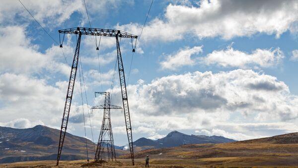 Линии электропередачи  - Sputnik Таджикистан