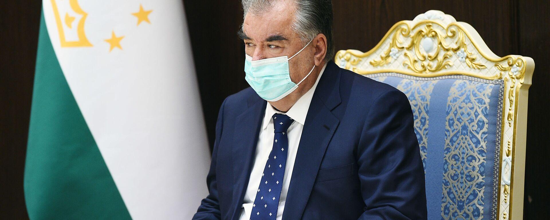 Президент Таджикистана Эмомали Рахмон - Sputnik Таджикистан, 1920, 17.08.2020