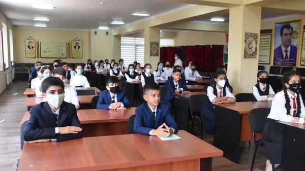 Начало учебного года в Таджикистане - Sputnik Таджикистан