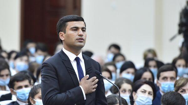 Встреча Рахмона с учителями средних школ - Sputnik Таджикистан