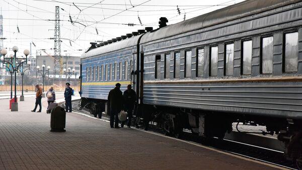 Вокзал, архивное фото - Sputnik Тоҷикистон
