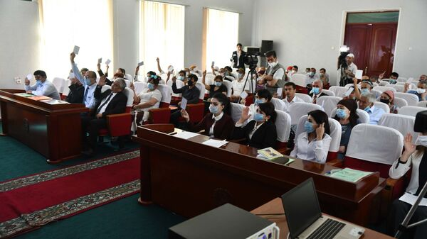 Собрание Социалистической партии Таджикистана - Sputnik Таджикистан