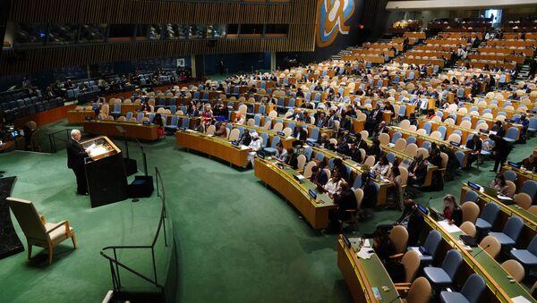 Генеральная Ассамблея ООН в Нью-Йорке - Sputnik Тоҷикистон