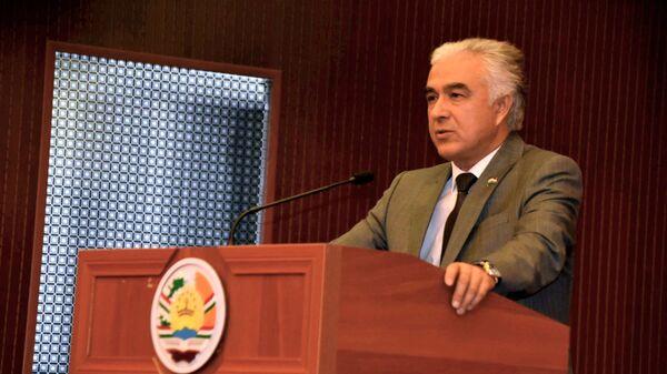 Председатель Демократической партии  Саидджафар Усмонзода - Sputnik Таджикистан