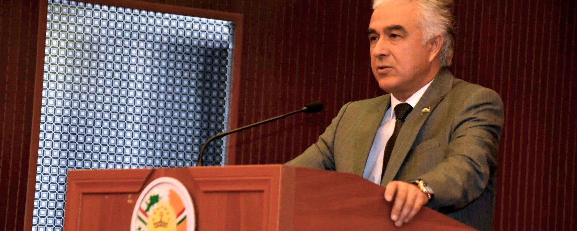 Председатель Демократической партии  Саидджафар Усмонзода - Sputnik Таджикистан, 1920, 20.08.2021