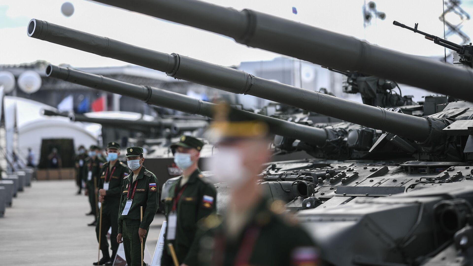 На Международном военно-техническом форуме (МВТФ) Армия-2020 в военно-патриотическом парке Патриот - Sputnik Таджикистан, 1920, 20.08.2021
