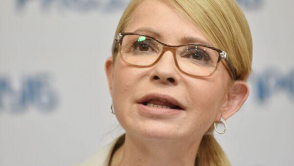 Лидер политической партии «Батькивщина» Юлия Тимошенко - Sputnik Таджикистан
