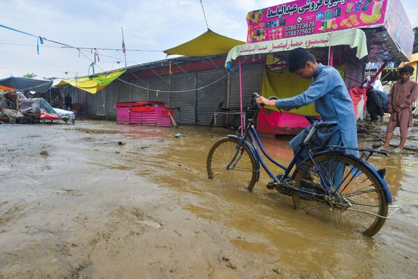 Наводнение в Афганистане  - Sputnik Таджикистан
