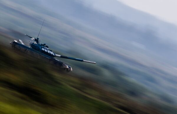 АрМИ - 2020. Танковый биатлон. Индивидуальная гонка - Sputnik Таджикистан