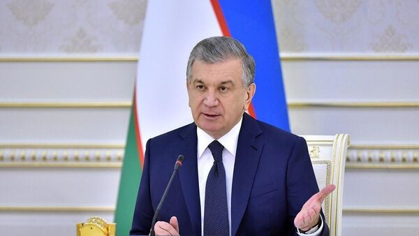 Президент Узбекистана Шавкат Мирзиёев - Sputnik Тоҷикистон