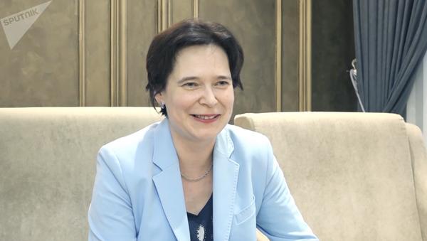 Руководитель отдела клинических исследований ЦНИИ Роспотребнадзора Татьяна Руженцова - Sputnik Таджикистан