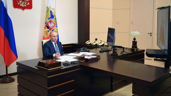 Президент РФ В. Путин - Sputnik Таджикистан