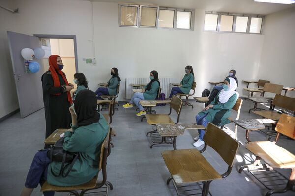 Урок в иорданской школе - Sputnik Таджикистан