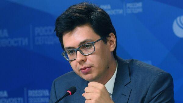 Генеральный директор Центра изучения перспектив интеграции, главный редактор портала RuBaltic.Ru Сергей Рекеда - Sputnik Таджикистан