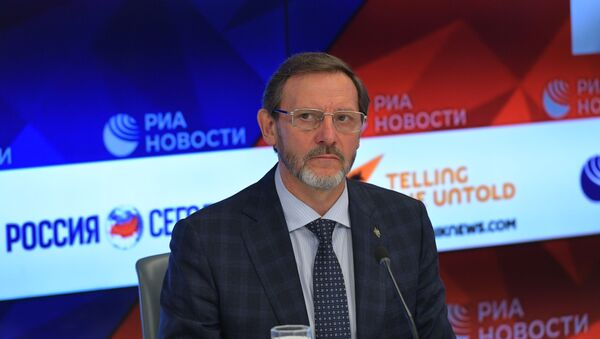 Президент Ассоциации Группы Вымпел полковник Валерий Попов - Sputnik Таджикистан