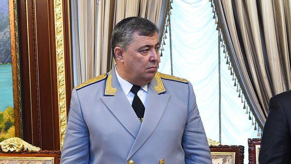 Мансурджон Умаров, глава Главного управления исполнения уголовных наказаний Министерства юстиции Таджикистан  - Sputnik Тоҷикистон