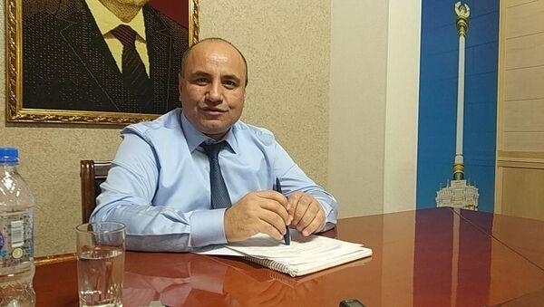 Глава Антимонопольной службы Абдулмаджид Муминзод - Sputnik Тоҷикистон