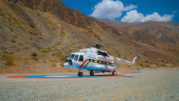 Российский вертолет Ми-8АМТ - Sputnik Таджикистан