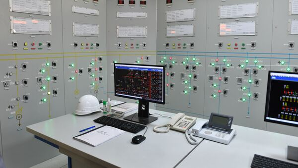 Электроподстанция в Турсунзаде - Sputnik Таджикистан