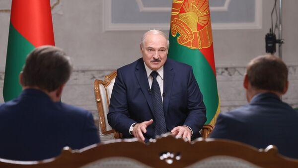 Президент Белоруссии А. Лукашенко дал интервью российским журналистам - Sputnik Таджикистан