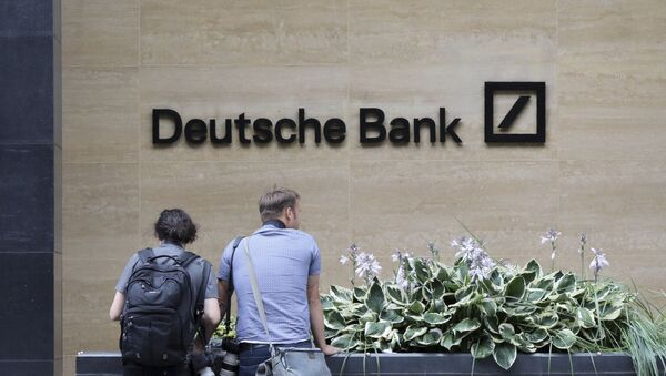 Deutsche Bank - Sputnik Таджикистан