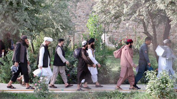 ОСвобожденные из тюрьмы боевики Талибана - Sputnik Таджикистан