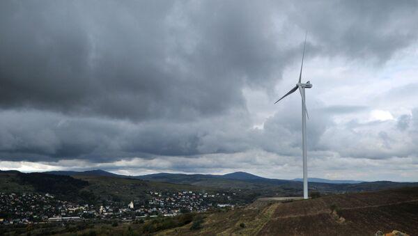 Открытие ветровой электростанции в Карпатах - Sputnik Таджикистан