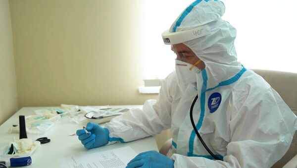 Выписка добровольцев, испытавших вакцину от COVID-19 - Sputnik Таджикистан