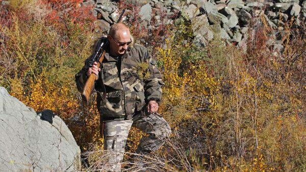 В.Путин во время экспедиции в Убсунурскую котловину - Sputnik Таджикистан